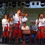Muzyka cymbalowa Grajcar z Dolních Bojanovic na MDW w Jaśle