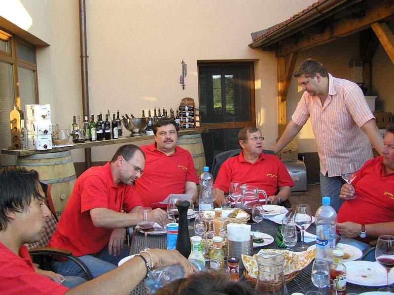 Degustacja win w firmie Hruška - Blatnička