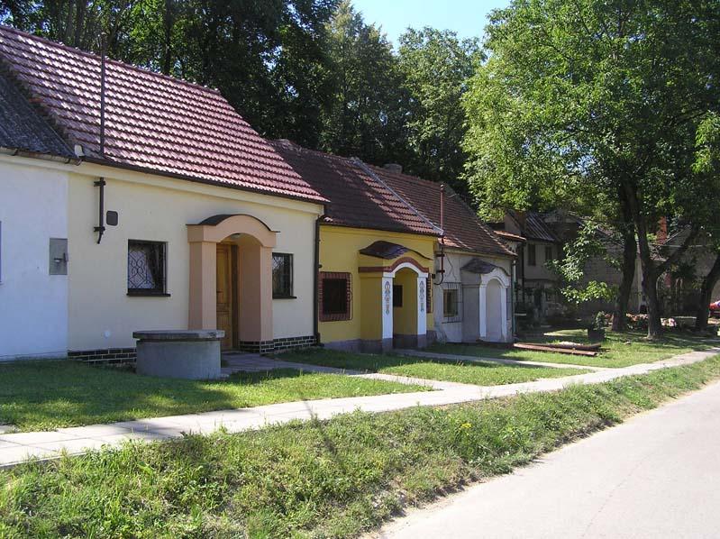 Uliczka winiarska w Čejču