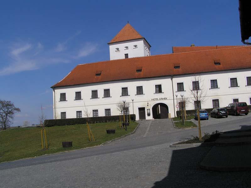 Komturia templariuszy w Čejkovicach - dziś hotel