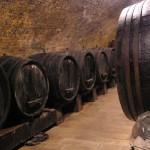 Piwnica win - Winiarstwo Židek w Popicach