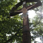 Krzyž w winnicy - Vrbice