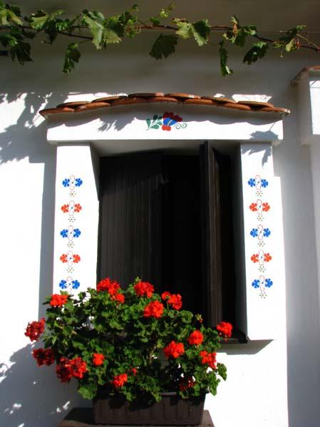 Okno domu winiarskiego - Mikulčice