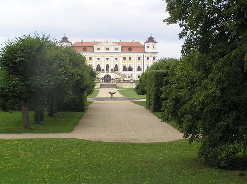 Zamek Milotice