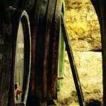W piwniczce win w Znojemskiem