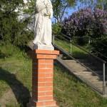 Moravská Nová Ves - Św. Urban-patron winiarzy