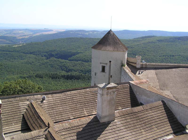 Na zamku Buchlov