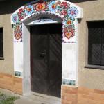 Wejście (žudro) do piwniczki win - Nechory