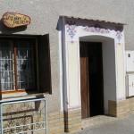 Nechory - wejście do piwniczki win