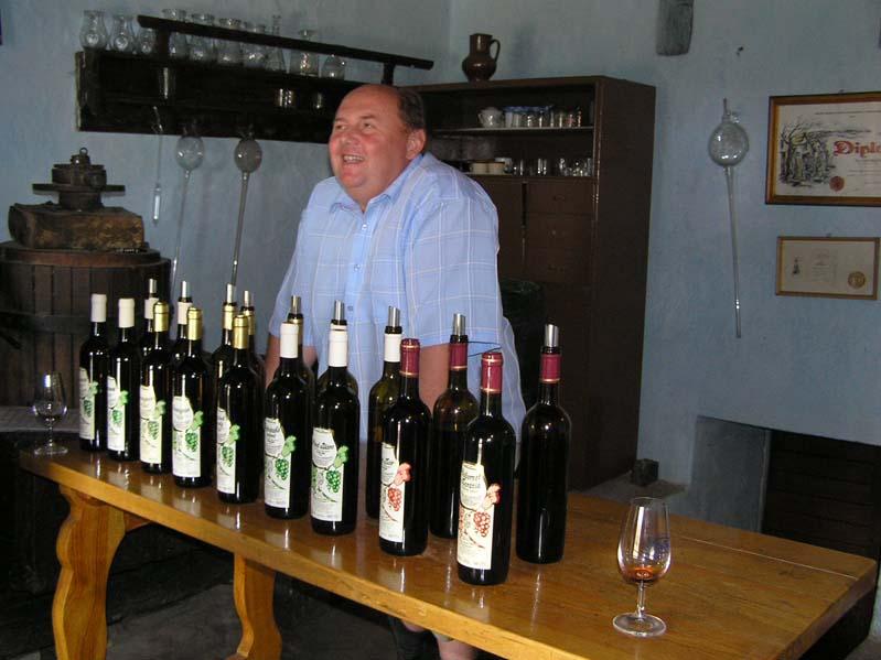 Z otwartych piwnic win w Blatnicy