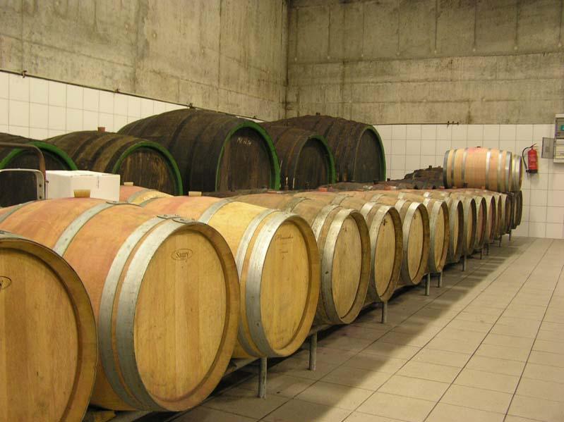 Dojrzewanie win w beczkach barrique