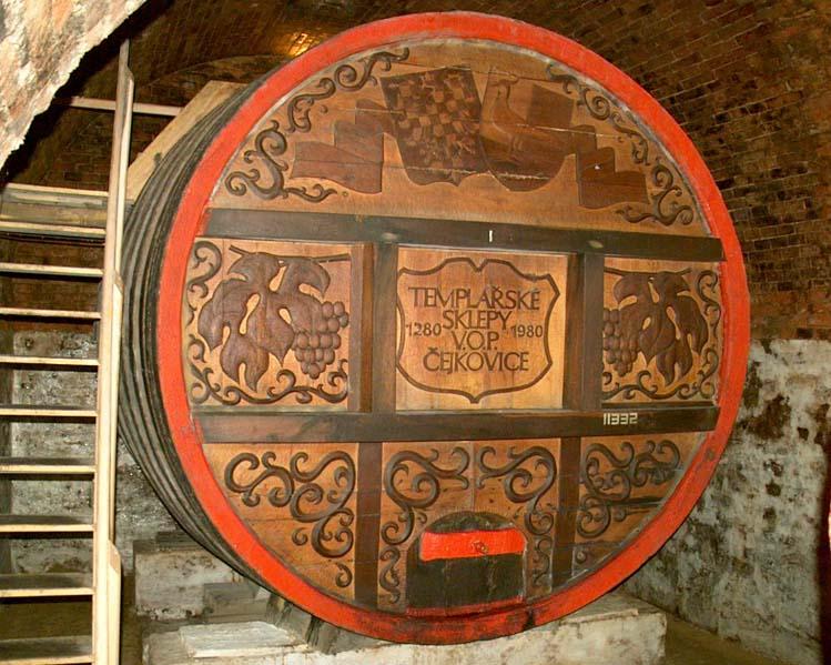 Piwnica win Templariuszy - Čejkovice