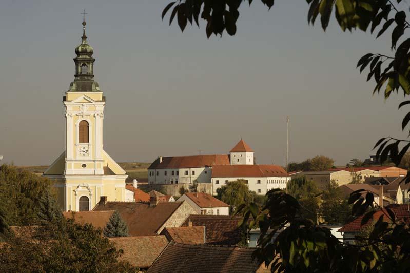 Čejkovice - kościól, komenda Templariuszy