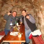 W morawskiej piwniczce przy winie i muzyce