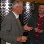 Dyskusja z winiarzem Glosem - ojcem Cabernet Moravia