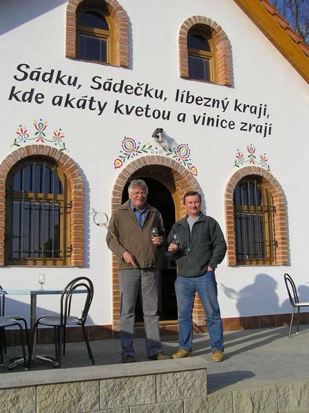 Winiarstwo Sádek - Kojetice