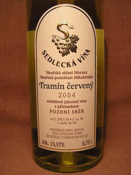 Sedlec - Traminer