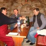 W piwniczce z winiarzem