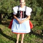 Strój dziewczęcy z Morawskiej Nowej Wsi