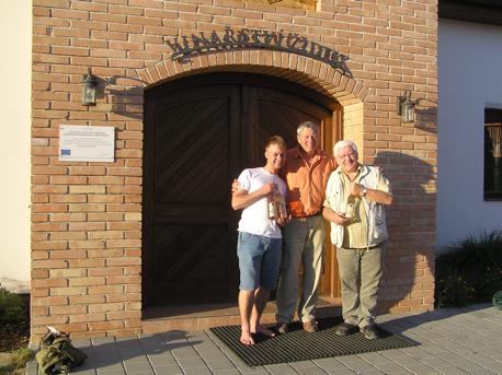 W winnicy Vinarstvi Židek w Popicach – miłe akcenty wyjazdu