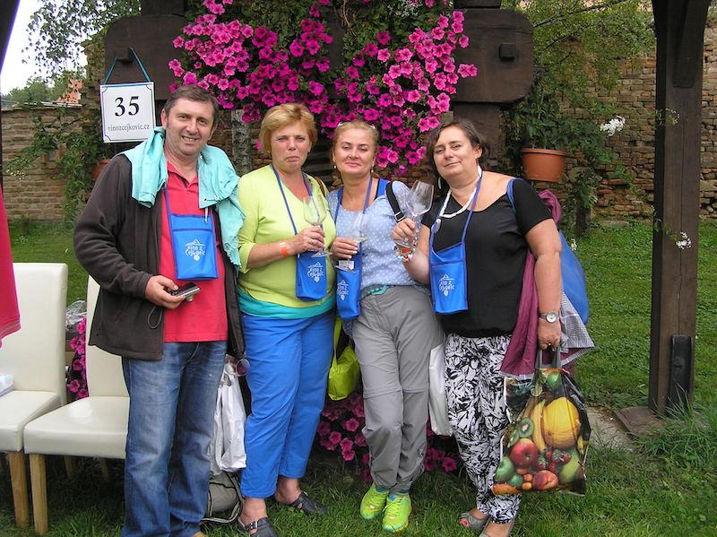 Na trasie Otwartych piwnic win w Czejkowicach