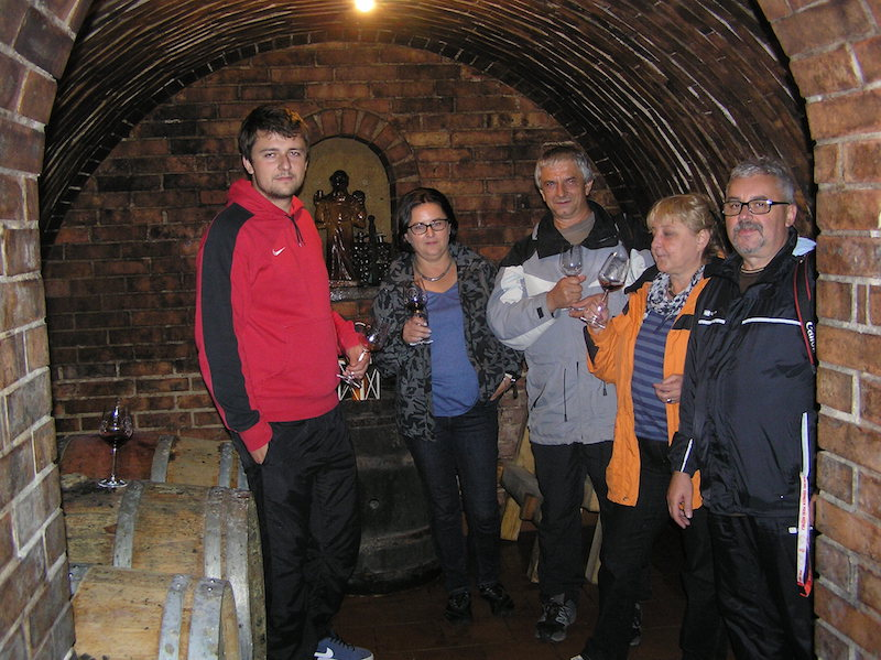 W piwniczce w Vinařství Radocha Čejkovice