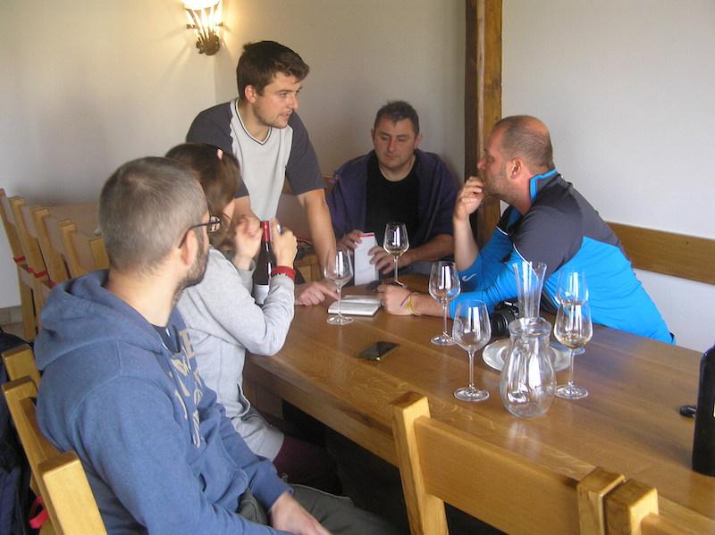 W Vinařství Radocha-dużo informacji o wytwarzaniu wina!!!